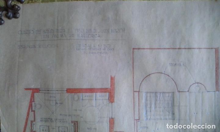 Documentos antiguos: Planos y proyectos. Año 1940 - Foto 11 - 166643210