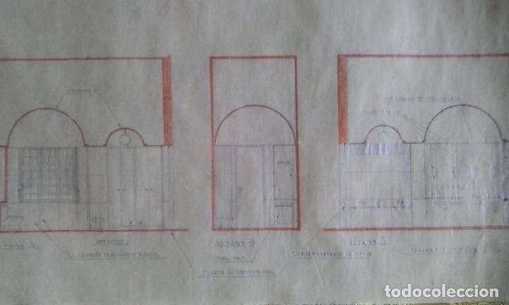 Documentos antiguos: Planos y proyectos. Año 1940 - Foto 12 - 166643210