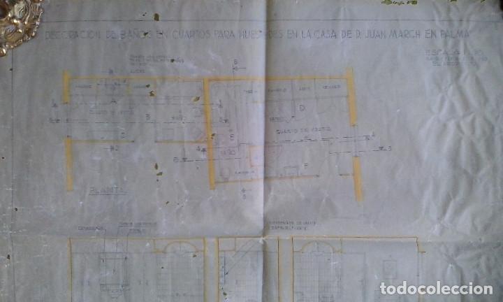 Documentos antiguos: Planos y proyectos. Año 1940 - Foto 17 - 166643210