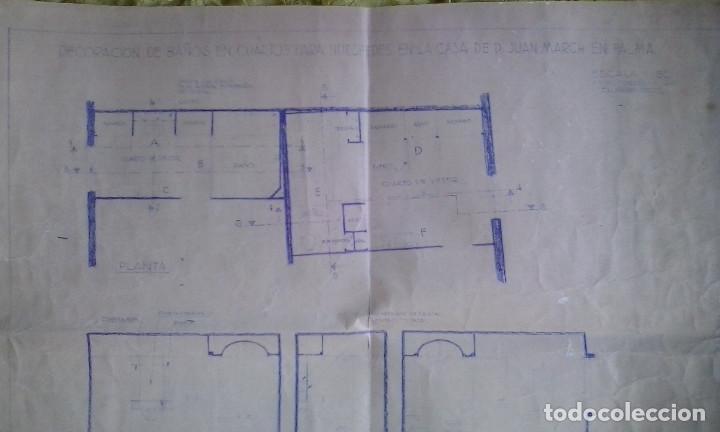 Documentos antiguos: Planos y proyectos. Año 1940 - Foto 19 - 166643210