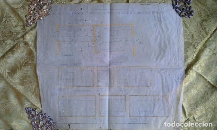 Documentos antiguos: Planos y proyectos. Año 1940 - Foto 20 - 166643210