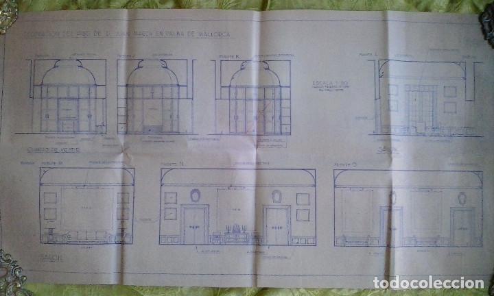 Documentos antiguos: Planos y proyectos. Año 1940 - Foto 21 - 166643210