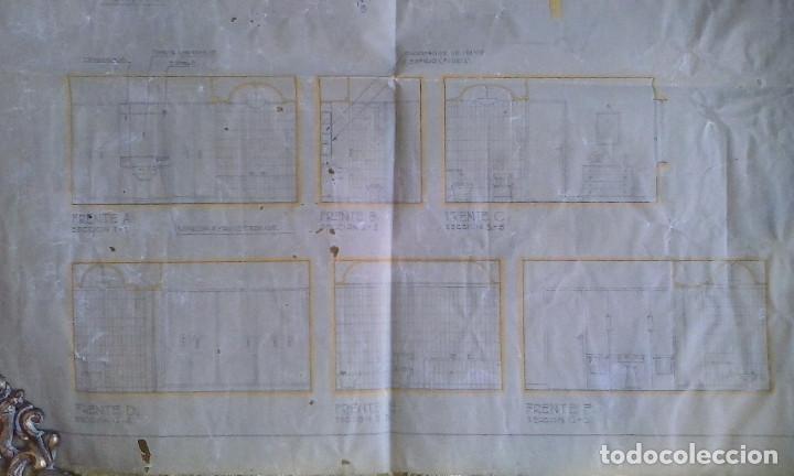 Documentos antiguos: Planos y proyectos. Año 1940 - Foto 22 - 166643210