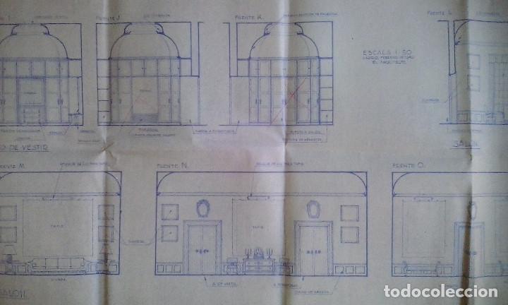 Documentos antiguos: Planos y proyectos. Año 1940 - Foto 26 - 166643210