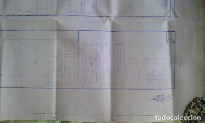 Documentos antiguos: Planos y proyectos. Año 1940 - Foto 28 - 166643210