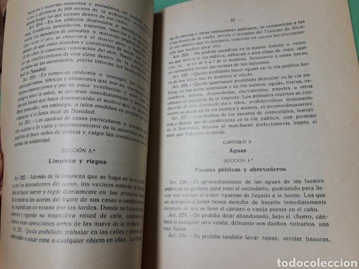 Documentos antiguos: Ayuntamiento de Níjar. Ordenanzas municipales 1928. - Foto 6 - 167543033