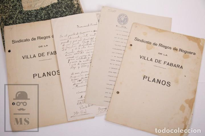 Documentos antiguos: Conjunto de Documentos y Escrituras - Rasquera, Tortosa, Domingo Piñana y Homedes - Años 30-60 - Foto 5 - 168704260