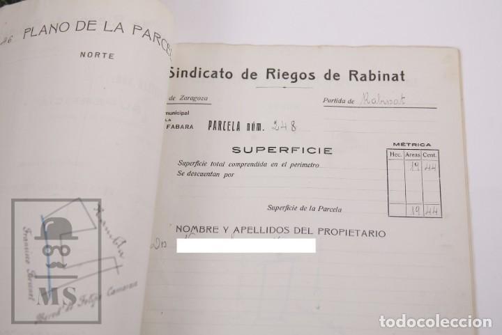 Documentos antiguos: Conjunto de Documentos y Escrituras - Rasquera, Tortosa, Domingo Piñana y Homedes - Años 30-60 - Foto 6 - 168704260
