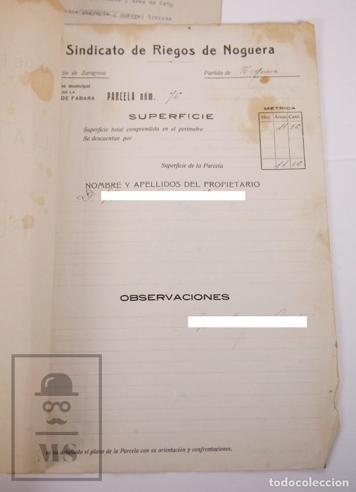 Documentos antiguos: Conjunto de Documentos y Escrituras - Rasquera, Tortosa, Domingo Piñana y Homedes - Años 30-60 - Foto 18 - 168704260