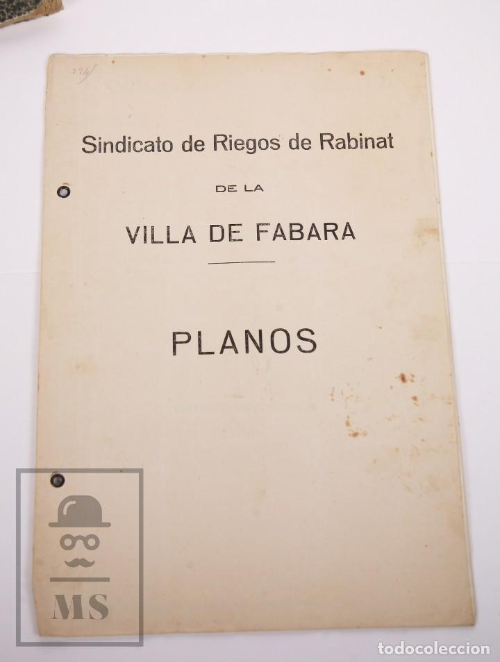 Documentos antiguos: Conjunto de Documentos y Escrituras - Rasquera, Tortosa, Domingo Piñana y Homedes - Años 30-60 - Foto 19 - 168704260