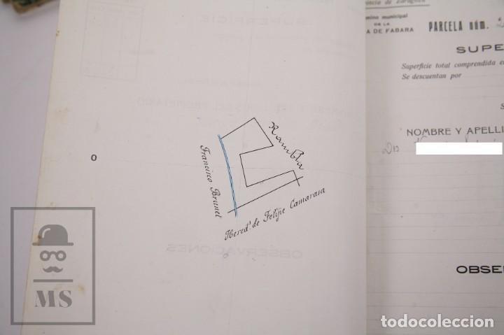 Documentos antiguos: Conjunto de Documentos y Escrituras - Rasquera, Tortosa, Domingo Piñana y Homedes - Años 30-60 - Foto 21 - 168704260