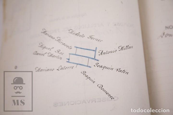 Documentos antiguos: Conjunto de Documentos y Escrituras - Rasquera, Tortosa, Domingo Piñana y Homedes - Años 30-60 - Foto 22 - 168704260