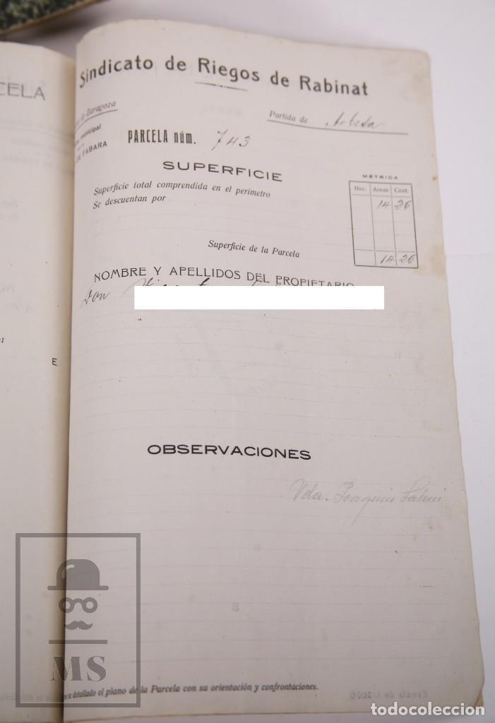 Documentos antiguos: Conjunto de Documentos y Escrituras - Rasquera, Tortosa, Domingo Piñana y Homedes - Años 30-60 - Foto 23 - 168704260