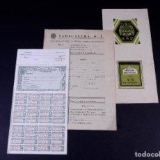 Documentos antiguos: TARJETA DE FUMADOR. LOTE . Lote 168742436