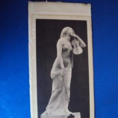 Documentos antiguos: (FOT-190608)PROGRAMA Y RECORTE DE ESCULTURA DEDICADO DEL ESCULTOR JOSEP CLARA MUSICOS TIN Y CASSADO. Lote 168939808