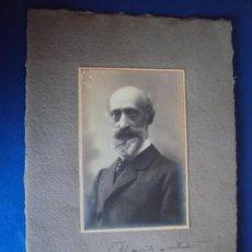 Documentos antiguos: (FOT-190609)FOTOGRAFIA DEDICADA DE APELES MESTRES A JOAQUIM CASSADÓ I VALLS, MAESTRO DE CAPILLA MERC. Lote 168940976