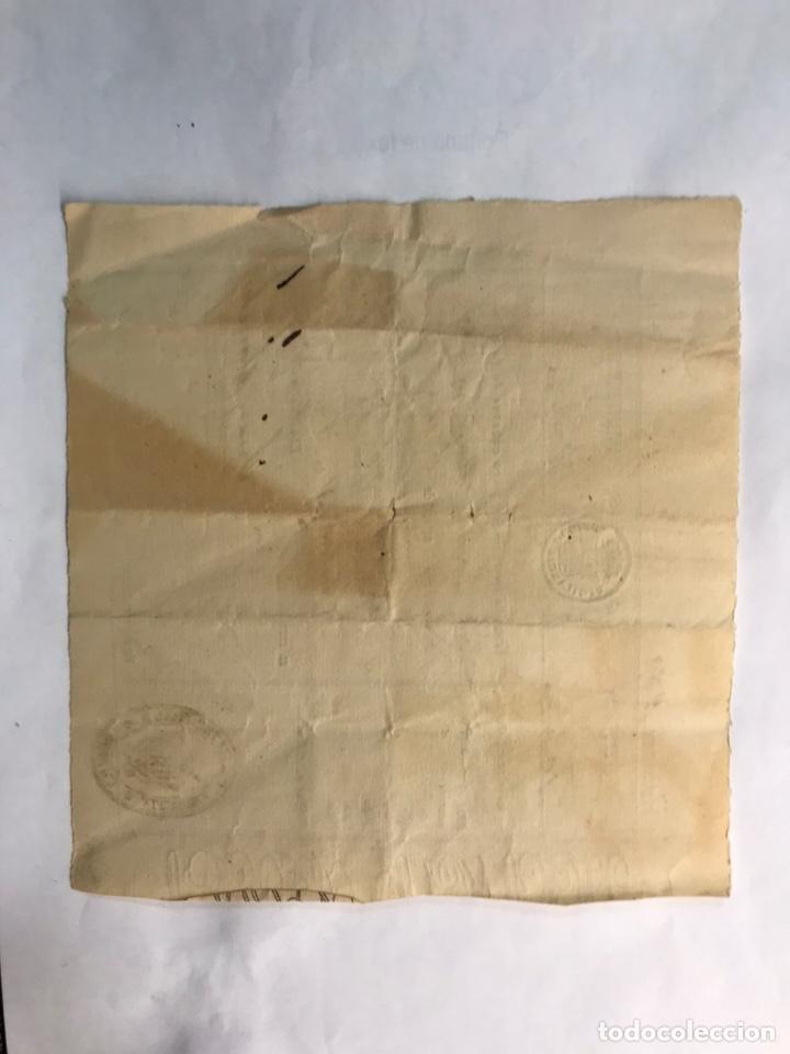 Documentos antiguos: DOCUMENTO. CHELVA (Valencia) Cédula de Vecindidad para cabezas de familia. (a.1864) - Foto 2 - 169142197