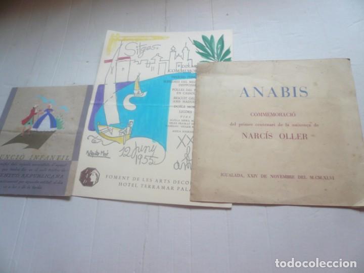 3 DOCUMENTOS (Coleccionismo - Documentos - Otros documentos)