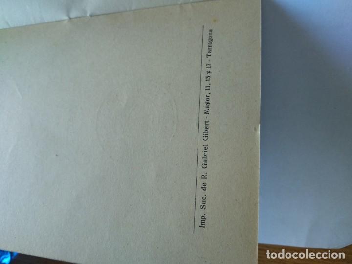 Documentos antiguos: REGLAMENTO DE LA ACCIÓN CATOLICA DE P0ADRES DE FAMILIA DE TARRAGONA - GABRIEL GIBERT IMP. - Foto 2 - 169780500