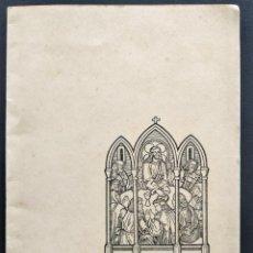Documentos antiguos: NUESTRA MISA, RECUERDO PRIMERA MISA DE JOSÉ JUANCOS BRÚ ORDENADO EN VALENCIA AÑO 1955. Lote 169968536