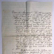 Documentos antiguos: INFANTES (CIUDAD REAL) ESCRITOS FAMILIARES Y COMERCIALES SOBRE LITIGIOS DE TITULARIDAD DE UNAS MINAS. Lote 169998180