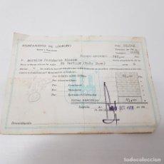 Documentos antiguos: RECIBO AYUNTAMIENTO DE LOGROÑO. RENTAS. Y EXACCIONES. EL CORTIJO. LOGROÑO.1966. TDKP14. Lote 170027944