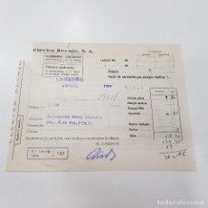 Documentos antiguos: RECIBO. ELECTRA RECAJO,S. A. 1954. LOGROÑO. TDKP14. Lote 170028872