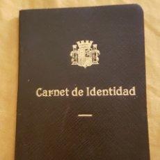 Documentos antiguos: CARNET DE IDENTIDAD REPUBLICA ESPAÑOLA. Lote 170131749
