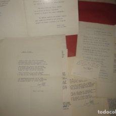 Documentos antiguos: NUMEROSA CORRESPONDENCIA DEL POETA TARRASENC ENRIC GALLO CON SU AMIGO Y TAMBIEN POETA PERE CALAFELL.. Lote 170627100