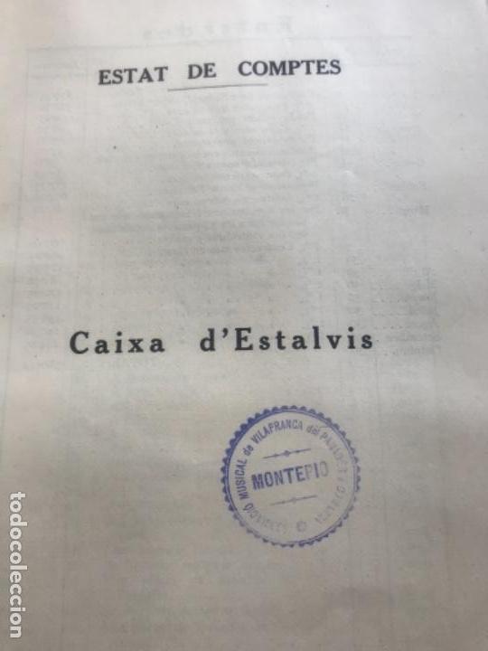 Documentos antiguos: ASSOCIACIÓ MUSICAL DE VILAFRANCA DEL PENEDÈS I COMARCA MEMORIA ANUAL 1926-1927. - Foto 2 - 171005754