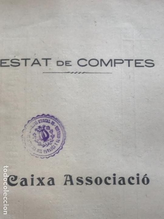 Documentos antiguos: ASSOCIACIÓ MUSICAL DE VILAFRANCA DEL PENEDÈS I COMARCA MEMORIA ANUAL 1928-1929. - Foto 2 - 171006538