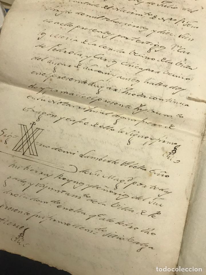 Documentos antiguos: Muy raro fiscal. SELLO TERCERO 1808. Habilitado NAPOLEÓN I 1810. Guerra Independencia. - Foto 4 - 171128027