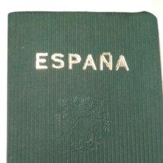 Documentos antiguos: PASAPORTE ESPAÑOL CON VISADO CONSULADO GENERAL ESTRASBURGO AÑOS 60 VER FOTOS. Lote 171186874