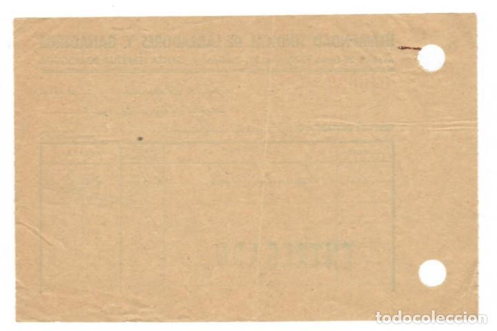 Documentos antiguos: Santa Perpetua de Moguda, 1958: Hermandad Sindical de Labradores y Ganaderos - Recibo - Foto 2 - 171215602