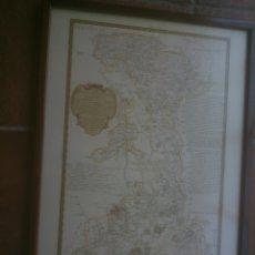Documentos antiguos: MAPA GEOGRAFICO DE LA PROVINCIA DE PALENCIA.VALLES Y JURISDISCCIONES. Lote 171992018