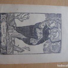Documentos antigos: GRABADO RELIGIOSO DE SAN PEDRO MARTIR, SIGLO XIX. . Lote 172024060