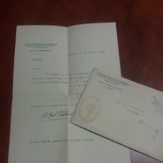 Documentos antiguos: ALCOY CARACAS ,VENEZUELA, CORRESPONDENCIA DIPLOMATICA .1941. Lote 172180183