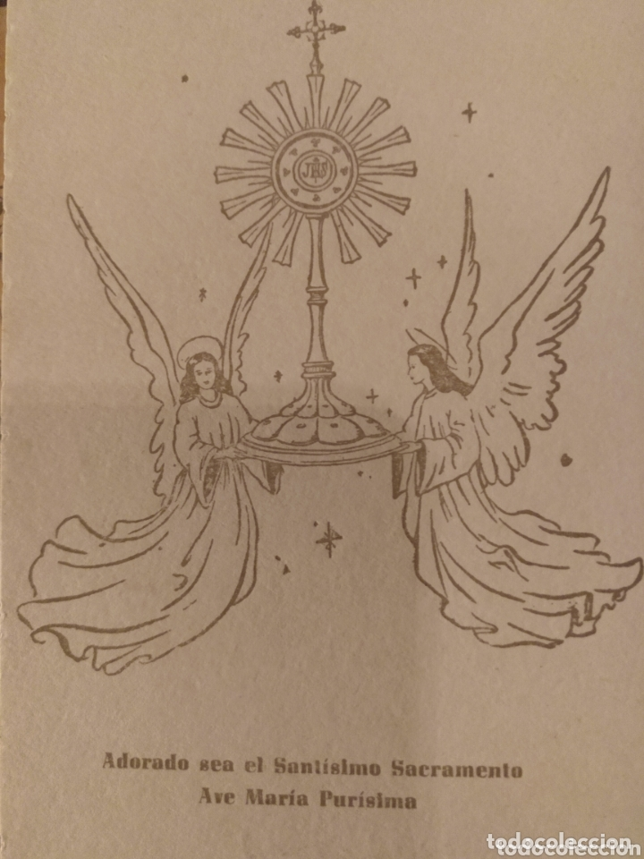 RECUERDO BODAS DE ORO ADORADA NOCTURNA DE ALMERÍA 1904 1954 (Coleccionismo - Documentos - Otros documentos)