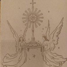 Documentos antiguos: RECUERDO BODAS DE ORO ADORADA NOCTURNA DE ALMERÍA 1904 1954. Lote 172290402