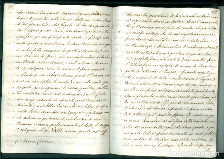 Documentos antiguos: CARTA 1815 - 32 PÁGINAS - HUÍDA DE NAPOLEÓN DE LA ISLA DE ELBA Y LA SITUACIÓN POLÍTICA DE 1815 - Foto 5 - 172715690