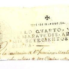 Documentos antiguos: CABECERA DE DOCUMENTO TIMBRADO , 20 MARAVEDIS, FERNANDO VI 1760. Lote 172822762