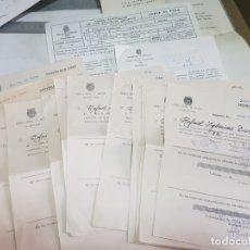 Documentos antiguos: DOCUMENTOS ANTIGUA ESCUELA SOCIAL LOTAZO . Lote 173194232