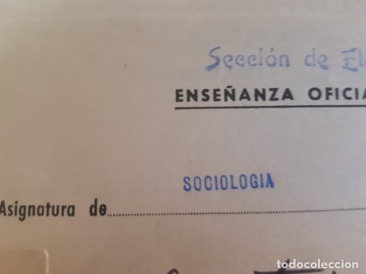 Documentos antiguos: Documentos Antigua Escuela Social lotazo - Foto 3 - 173194232