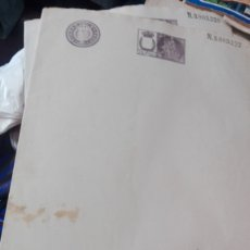 Documentos antiguos: HOJA DOBLE NOTARIA SELLADA SIN USAR. Lote 173656504