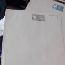 Documentos antiguos: HOJA DOBLE NOTARIA SELLADA SIN USAR. Lote 173656609