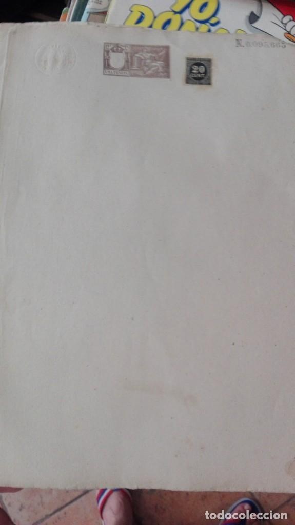 HOJA DOBLE NOTARIA SELLADA SIN USAR (Coleccionismo - Documentos - Otros documentos)