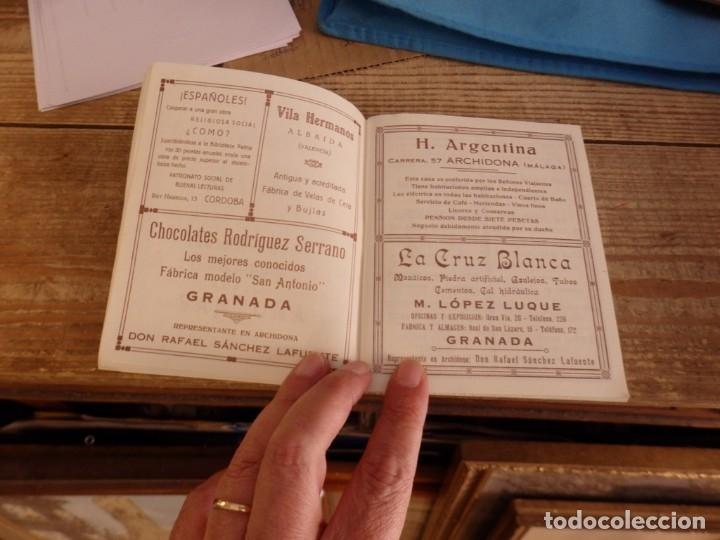 Documentos antiguos: SEMANA SANTA ARCHIDONA, 1929, SUNTUOSAS PROCESIONES, FACSIMIL, 52 PAGINAS - Foto 2 - 173769489