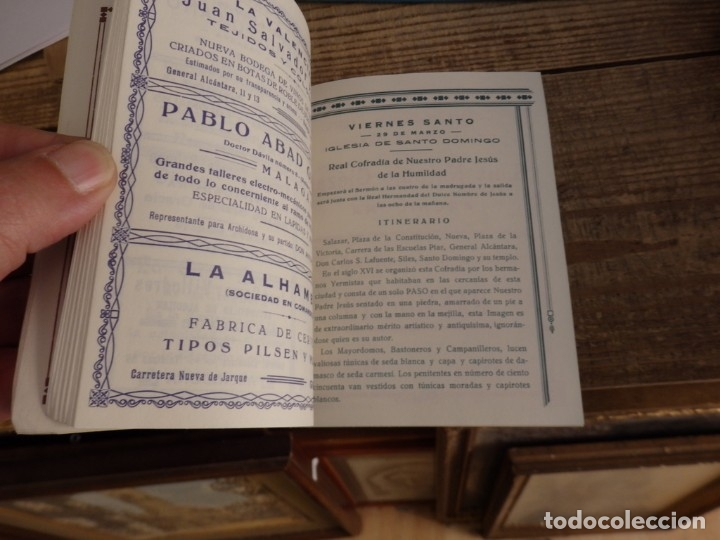 Documentos antiguos: SEMANA SANTA ARCHIDONA, 1929, SUNTUOSAS PROCESIONES, FACSIMIL, 52 PAGINAS - Foto 3 - 173769489