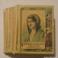 Documentos antiguos: FOTOTIPIAS CAJAS DE CERILLAS COLECCION Nº 27 COMPLETA EN BUEN ESTADO. Lote 173882940