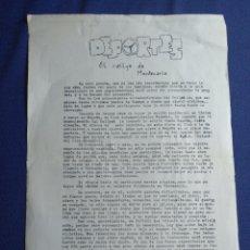 Documentos antiguos: CARTA EXPLICATIVA DE LA IMPORTANCIA DE HABER CONSEGUIDO LA 1 SALIDA DEL RALLYE MONTECARLO EN ALMERÍA. Lote 173909545